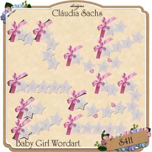 ClaudiaSachs_BabyGirlWordart